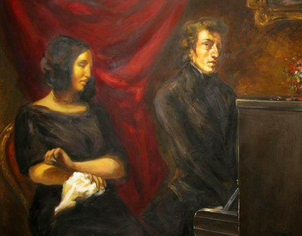Związek Chopina z pisarką George Sand zakończył się w atmosferze skandalu. Odbiło się to na zdrowiu kompozytora.