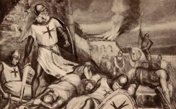 Przesadna żądza łupów Bernarda z Temelay kosztowała życie kilkudziesięciu templariuszy. Wśród nich znalazł się również sam wielki mistrz.