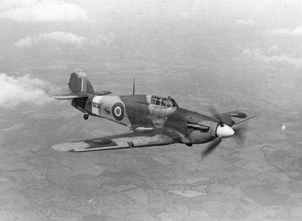 Hawker Hurricane. Takimi maszynami latali piloci Dywizjonu 303.