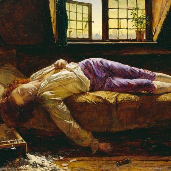 Henry Wallis The Death of Chatterton Google Art Project