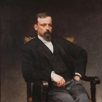 Henryk Sienkiewicz w 1905 roku otrzymał literacką Nagrodę Nobla.