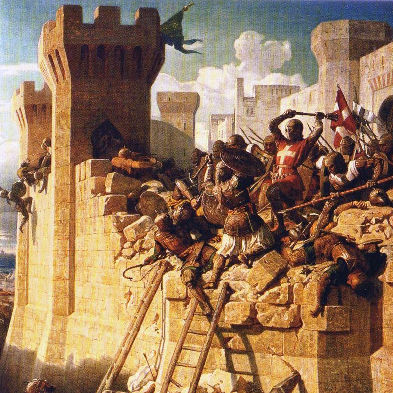 Żadne inne tak prestiżowe stanowisko nie groziło brutalną śmiercią, jak wielkiemu mistrzowi templariuszy.