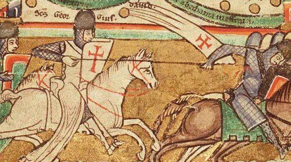 Pod Hittiniem stawiła się największa armia w historii Królestwa Jerozolimskiego. Wśród walczących nie mogło zabraknąć templariuszy.