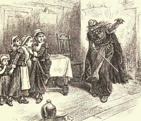 Wśród trzech pierwszych oskarżonych w Salem znalazła się czarnoskóra niewolnica Tituba. Za pomocą czarów miała ona ściągnąć tajemnicze drgawki na córkę swojego pana i jej kuzynkę.