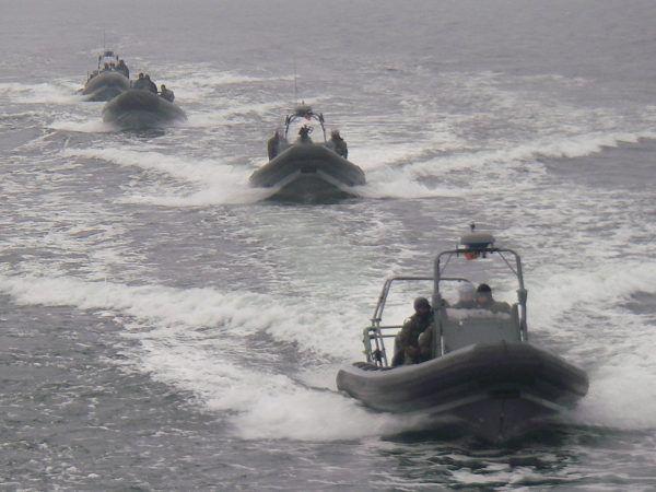 Komandosi z GROM-u ćwiczyli między innymi w towarzystwie jednostek amerykańskich, w tym Navy SEALS.