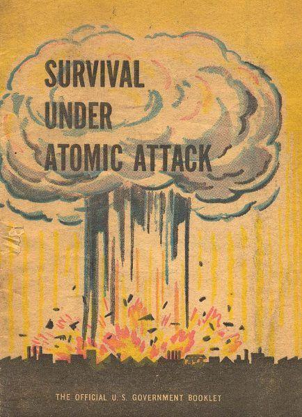 Skierowany do dorosłych obywateli podręcznik przetrwania w razie wojny atomowej wydany w 1950 roku przez rząd USA.