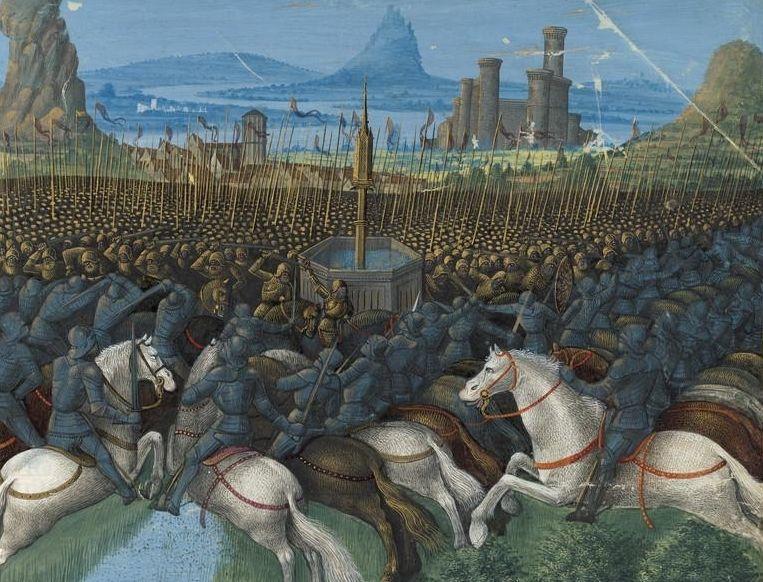 Bitwa u źródła Cresson dała Saladynowi pretekst do rozpoczęcia wojny z krzyżowcami.