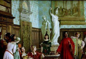 Dwór Medyceuszy (fot. domena publiczna)