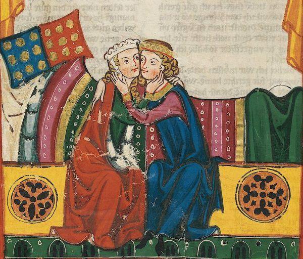 Do oskarżenia o zdradę wystarczył kontakt fizyczny między kobietą a obcym mężczyzną - choćby niewinny pocałunek.