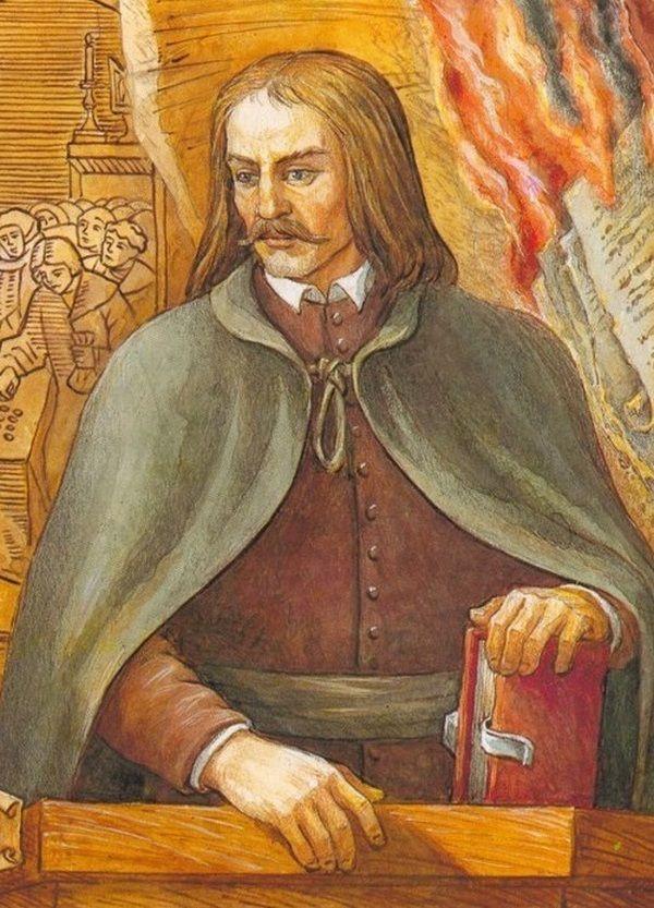 Na stosie skończył również filozof i ateista Kazimierz Łyszczyński.