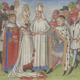 Ręka wdowy w XIII-wiecznej Anglii kosztowała zaledwie 100 marek. Za małżeństwo z ekskrólową trzeba było zapłacić wielokrotnie więcej (ilustracja poglądowa).