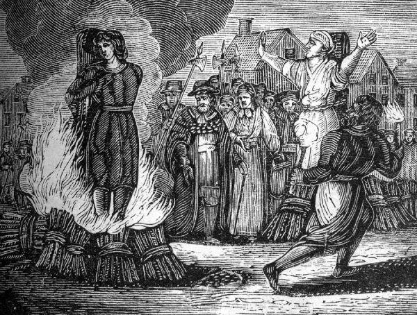 Zwykło się uważać, że ostatnią kobiet spaloną na stosie za rzekome paranie się czarami była Barbara Zdunk. Wiele jednak wskazuje na to, że została skazana na stos z zupełnie innego powodu. Ilustracja poglądowa.