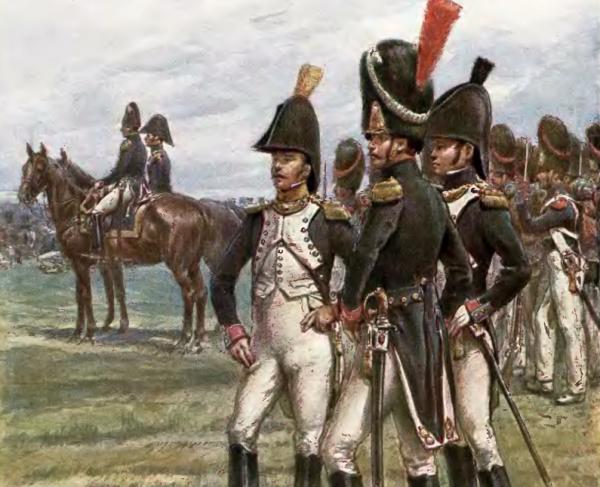 Joanna miała prawdziwie żołnierską posturę i przez dobrych kilka miesięcy udało jej się udawać młodszego brata swojego męża. Ilustracja poglądowa.