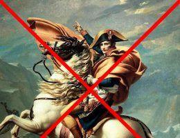 Polacy, przez których domy przetoczyła się Wielka Armia Napoleona przeklinali dzień, w którym Bonaparte przyszedł na świat (fot. domena publiczna)