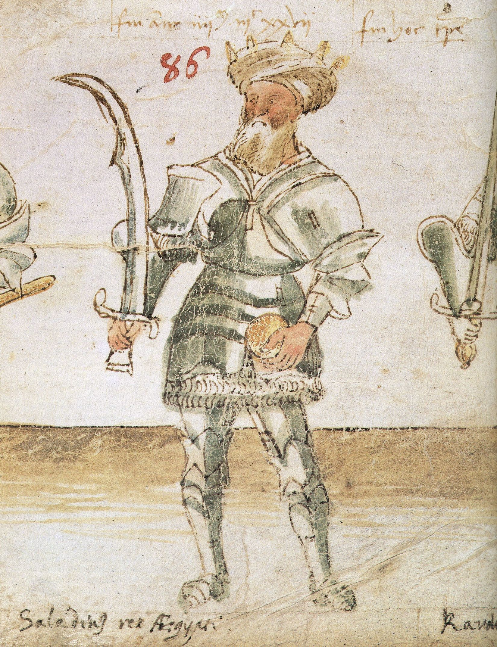 Saladyn wykazywał się nadzwyczajnymi talentami wojskowymi.