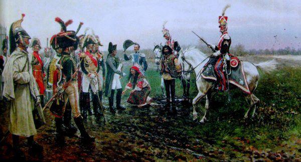Stanisław Wolski, Epizod z kampanii rosyjskiej Napoleona 1812 (fot. domena publiczna)
