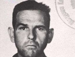 Amon Göth na zdjęciu wykonanym w polskim więzieniu. Sierpień 1945 rok.