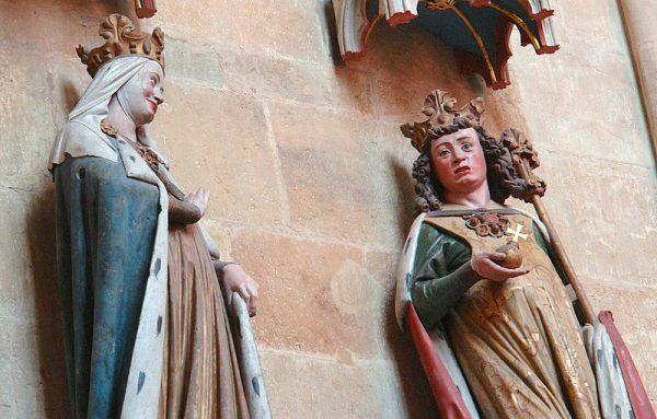 Adelaida z drugim mężem – Ottonem I.