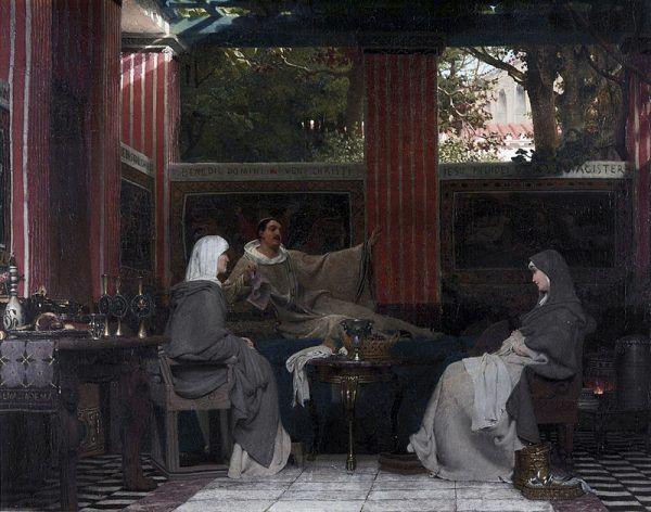 Radegunda uciekła przed mężem do klasztoru – i spędziła tam resztę życia.