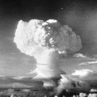 Detonation of a Thermo Nuclear Device in the South Pacific