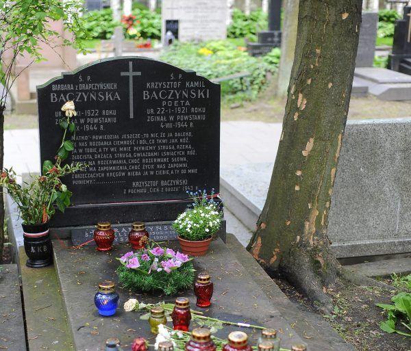 Krzysztof i Basia spoczęli we wspólnym grobie na Cmentarzu Powązkowskim.