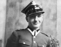 Ppor. rezerwy artylerii Stanisław Jankowski, maj 1939. Fot. Archiwum rodzinne St. Jankowskiego mini
