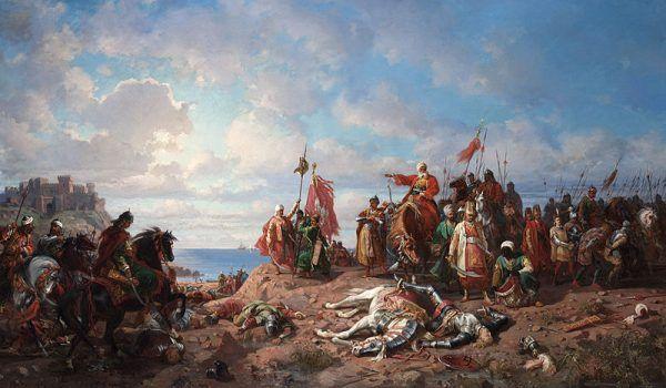 Janczarzy przyczynili się między innymi do zwycięstwa tureckiego w bitwie pod Warną w 1444 roku.