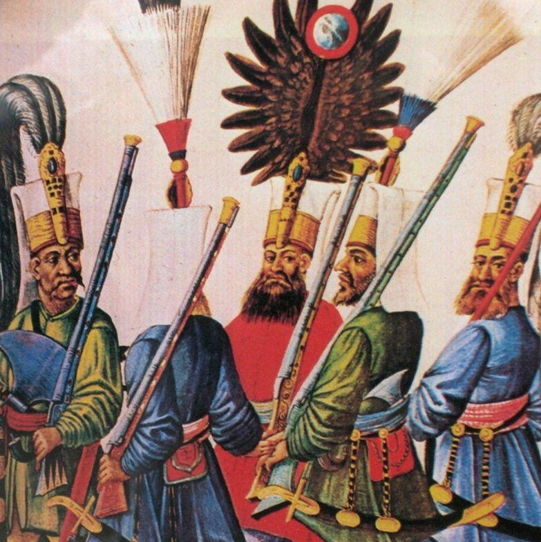 Oddziały janczarów działały w wojsku osmańskim od XIV do XIX wieku.