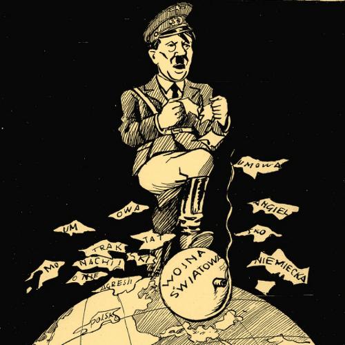 """Tak Hitlera jeszcze w maju 1939 roku przedstawiała satyryczna """"Mucha"""", nazywając go """"zuchem z zastrzeżeniami""""."""