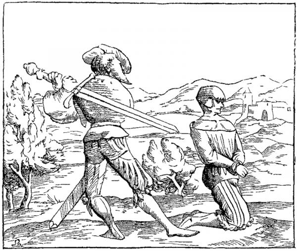 Kara śmierci poprzez ścięcie