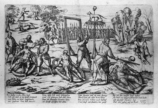 W średniowieczu i nowożytności stosowano najróżniejsze tortury