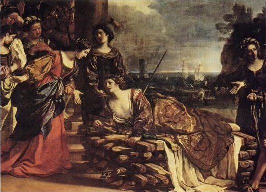 Anna Perenna opuściła Kartaginę po tym jak jej siostra – królowa Dydona popełniła samobójstwo