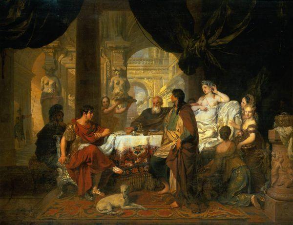 Kleopatra i Antoniusz uwielbiali wystawne bankiety