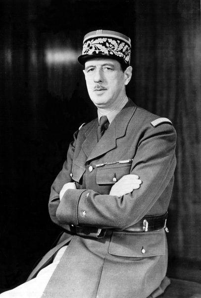 Charles de Gaulle w czasie wojny polsko bolszewickiej miał 30 lat