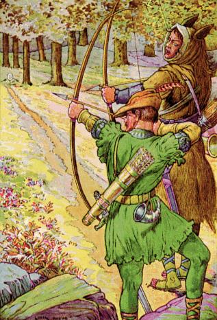 Postać Robin Hooda jest żywa w kulturze popularnej
