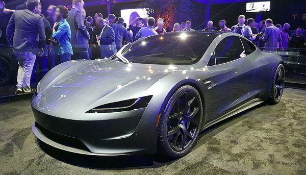 Tesla roadster, prototyp 2020