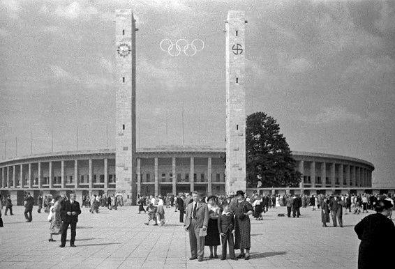 Stadion Olimpijski w Berlinie (1936 rok)