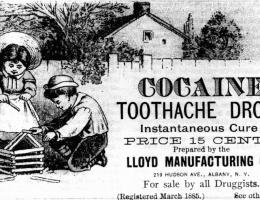 Kokaina dodawana była do cukierków, napojów i lekarstw