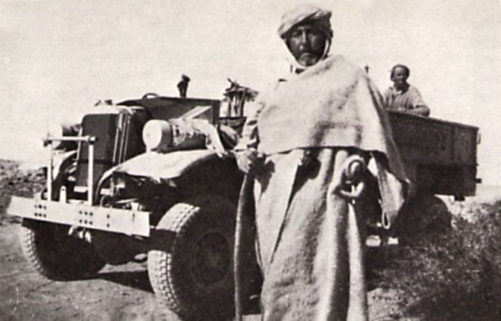 """Haselden"" – kpt. John Haselden w stroju beduińskim"