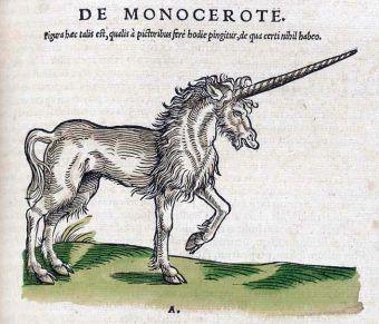 Jednorożec to klasyczny przykład fantastycznego zwierzęcia