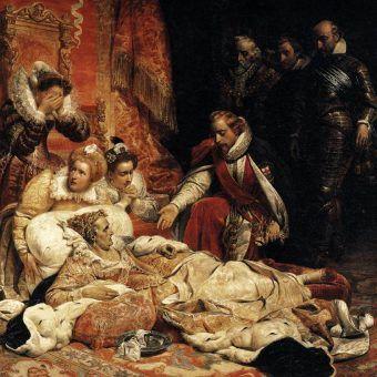 Królowa Elżbieta I odeszła w pokoju, choć zapewne nie byłaby taka spokojna, gdyby wiedziała, co spotka jej ciało...