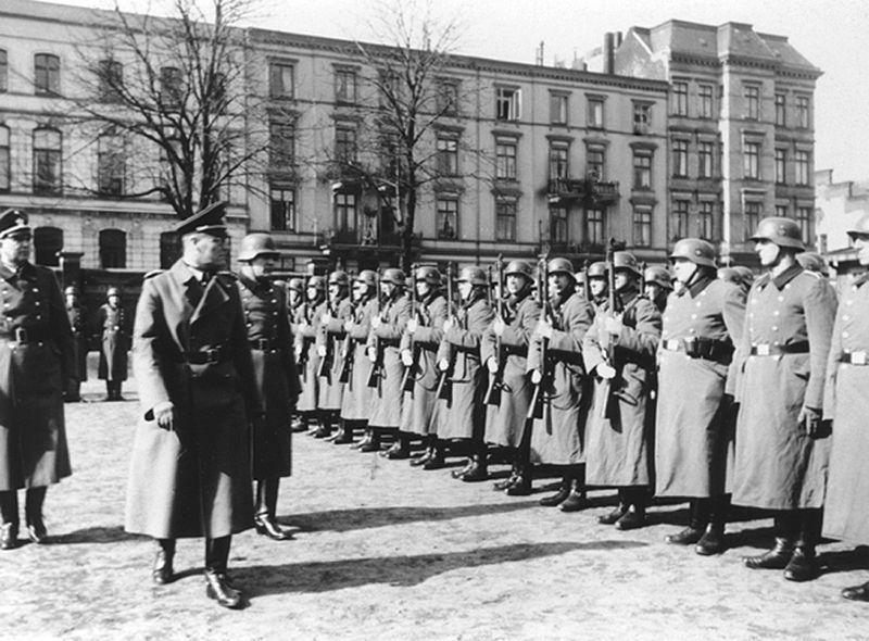 Inspekcja 101. Rezerwowego Batalionu Policji w okupowanej Polsce