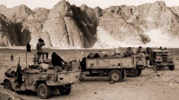"""""""SIG"""" – oddział SIG, jedno z ostatnich zdjęć przed atakiem na Tobruk"""