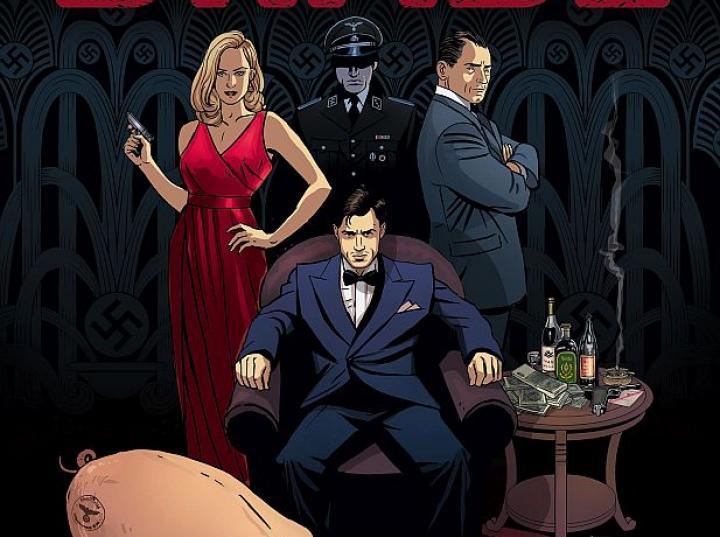 Komiksowa historia Leskiego utrzymana jest w klimacie noir