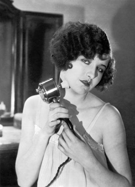 Reklama wibratora z 1927 roku