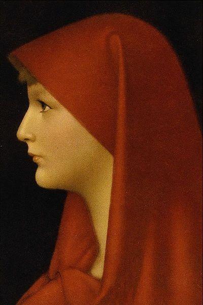 Kopia obrazu JJ. Hennera z XIX w. przedstawiająca św. Fabiolę