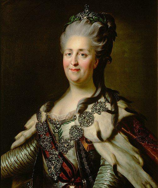 Katarzyna Wielka słynęła z posiadania wielu kochanków