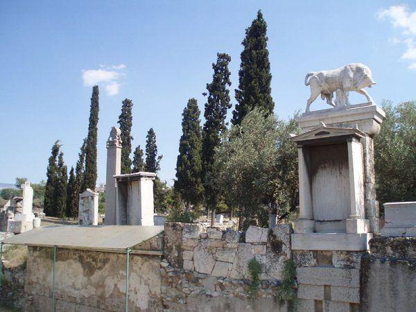 Kerameikos cmentarz w Atenach
