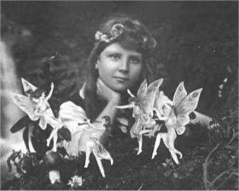 Frances Griffiths z Wróżkami