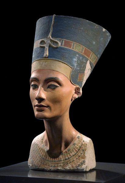 Nefertiti Wielka Małżonka Królewska